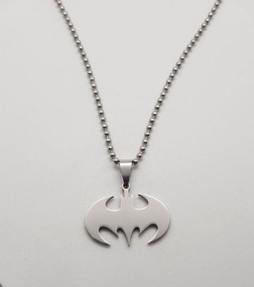 Classic Batman Stainless Steel Pendant